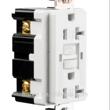 Interruptor de falha de aterramento GFCI com aprovação UL, 20A, 125V AC, 60Hz.YGB-095