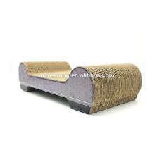 Preço de fábrica boa qualidade gato salão sofá gato scratcher papelão ondulado cat cartão SCS-7013
