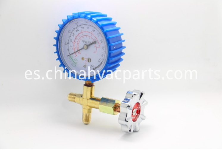 single way pressure manifold gauge