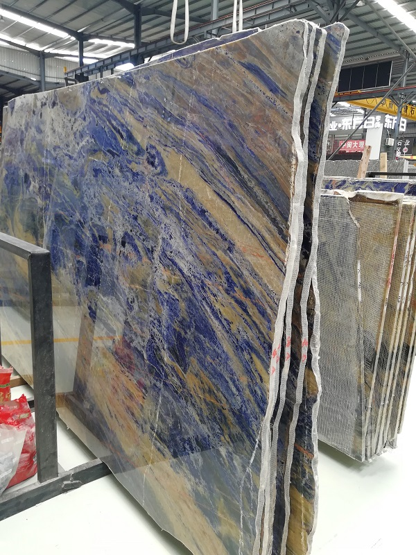 Rank A Blue Sodalite Slab Stonecontact