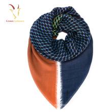 Осень Новый мода шерстяной шарф печатных мужская