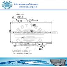 Auto Kühler für MAZDA MENTOR 96-00 KIA AT