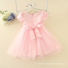 Usine prix robes bébé personnalisé été manches courtes 3-12 ans odl filles vêtements sur alibaba OEM desings pour enfants