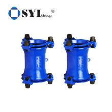 Junta flexível de ferro dúctil ampla faixa de desmontagem de acessórios para tubos de junta