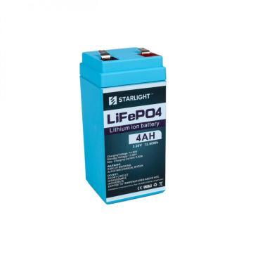 Bateria LiFePO4 4V4AH para substituir bateria de ácido de chumbo