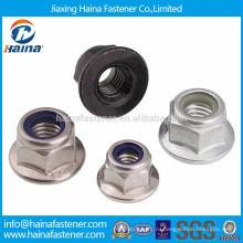 Стопорная гайка с шестигранной гайкой из оцинкованной стали или нержавеющей стали