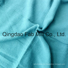 Lino de alta calidad / algodón sola tela de hilo (QF16-2524)