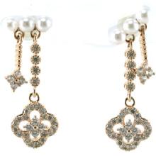 Neuer Entwurf für Perlen-Ohrring-925 silberne Schmucksachen der Frau (E6541)