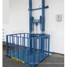 Chaise électrique verticale d'ascenseur d'escalier pour la cargaison