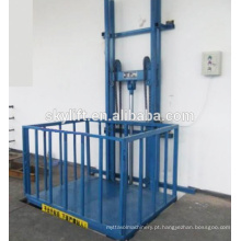 Cadeira de elevador de escada vertical elétrica para carga