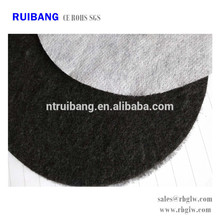Tissu de filtre à charbon actif Tissu de coton à charbon actif