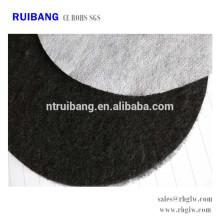 pano de filtro de carvão ativado tecido de algodão de carvão ativado