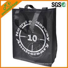 Novos produtos recicláveis não tecido saco para compras, pp não tecido saco de compras, pp não tecido saco preço