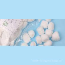 Bolas de algodón absorbentes no estériles