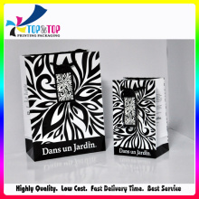 Sac de papier romantique / sac cadeau cadeau amour avec ruban / sacs cadeau
