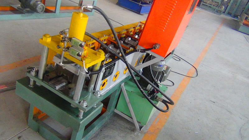 metal fance roll forming machine