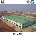 Fábrica de estructura de acero prefabricada bajo costo planes de construcción