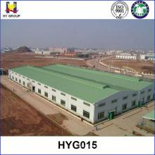 Estruturas de aço pré-fabricadas planos de construção de armazém