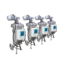 Filtros de aspiración automáticos que limpian los filtros para eliminar los sólidos suspendidos