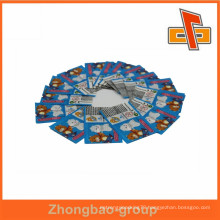 Customized transparent PVC shrink wrap for easter egg flexible label packaging china supplier