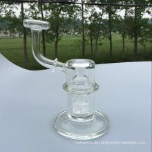 Mini Glas Wasser Rohr Hitman Hammer Tube Rauchen Pfeife Birdcage Percolator Perc Glas Rohr Großhandel OEM Customs Pipe