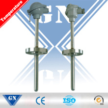 Type K Thermocouple with Fixed Flange