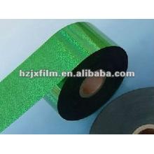 Polyester-Hologramm-Metallfilm