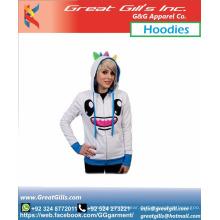 Benutzerdefinierte Unisex Sportmode Hoodies Cooles animiertes Design