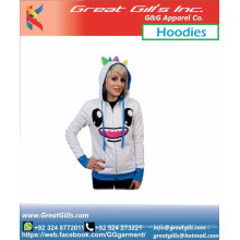 Custom Unisex Sports Fashion Hoodies Cool Animated Design