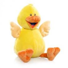 Destino amarillo grande pato peluche de juguete