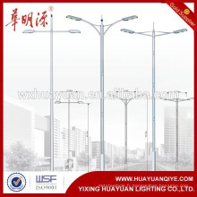 Meilleur qualité Bon Design Garden Steel Street lamp poste pole