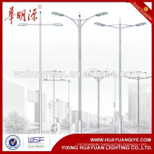 steel lamp post light pole