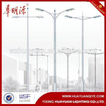 steel lamp post light pole