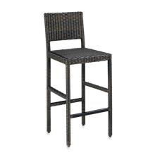 Смолы из ротанга плетеная сад открытый бар мебель стул