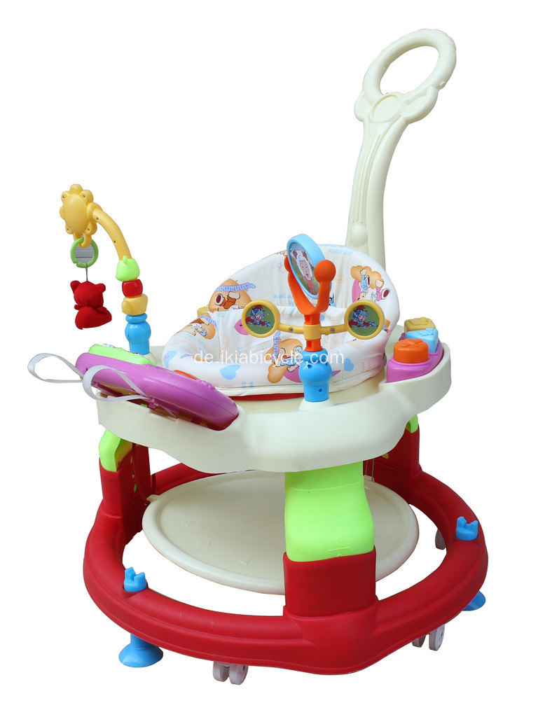 Cartoon Baby Walker Kinderwagen Sitz