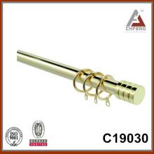 C19030 декоративные покрытые аксессуары карнизы, металлические шторы картон