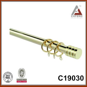 C19030 mordern fancy curtain rod finials,double single rail curtain accessories,curtain rod set