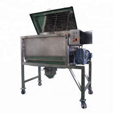 Shrimp dry powder horizontal ribbon blender stainless steel double helical industrial mixer mixing blending machine