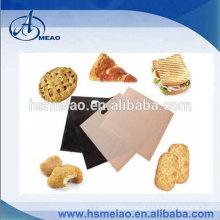 Teflon saco de pão lavável para forno e torradeira