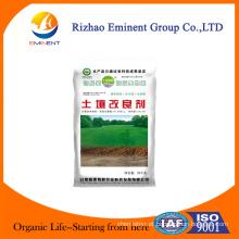 Condicionador de solo com regulador de crescimento de plantas