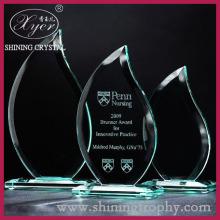 3D Laser Crystal Jade kaca Anugerah trofi