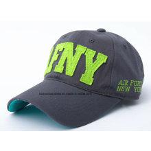 OEM produzieren kundengebundenes Logo gestickte fördernde Baumwollsport-Baseballmütze