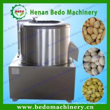 sweet potato peeling and washing machine / home use potato washing and peeling machine