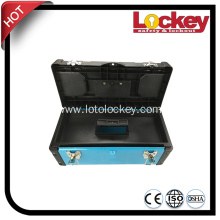 Personal Lockout Toolbox and Lockout Box