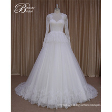 Long Sleeve Bolero Jacket Wedding Dress