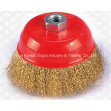 Aluminum Wheel Rims Polish High Quality Abrasive Tools Cup Brushes