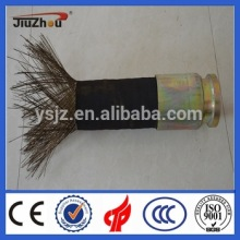 concrete pump rubber hose with 4 piles steel wires