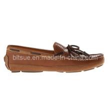 Zapatos económicos del barco de cuero de la manera