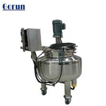 El tanque de mezcla de alta velocidad SS304 / 316, crema facial de la venta grande que hace la máquina