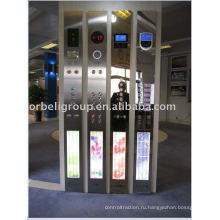 Панель управления лифтом (HOP, COP, LOP), Подъемные части